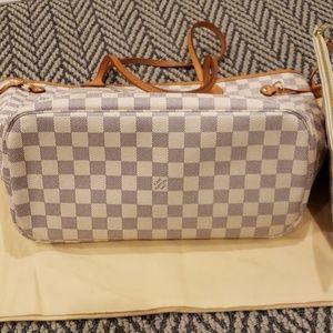 Louis Vuitton Bags - 🔥Louis Vuitton Neverfull MM Tote in Damier Azur